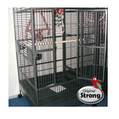 Strong Papegaaienkooi Amalia Grijs