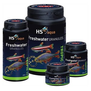 HS Aqua Freshwater Granules XS Kleine Tropische vis