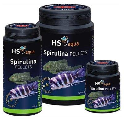 HS Aqua Spirulina Pellets voor middel tot grote vis