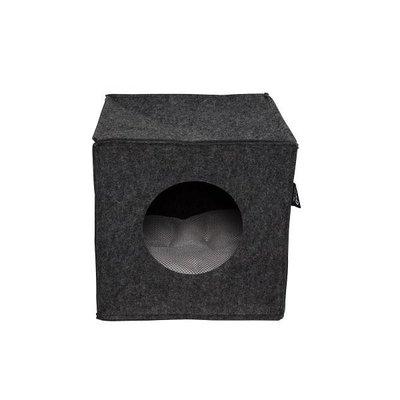 D&D Home Collection Cat Cube Kattenhuis