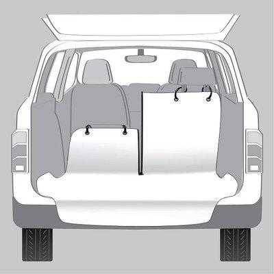 Trixie Kofferbakbeschermer Deelbaar