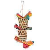 Trixie Natuurlijk Vogelspeelgoed aan Sisaltouw