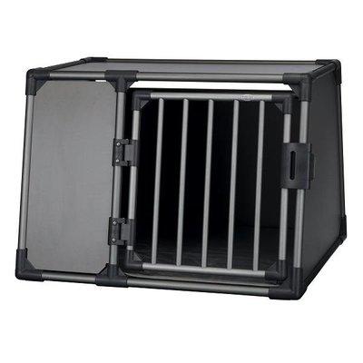 Trixie Auto Vervoersbox Aluminium grafiet