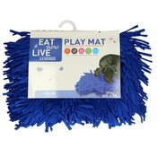 Eat Slow Live Longer Play Mat blauw