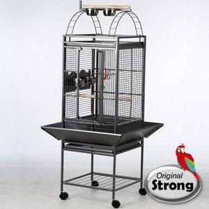 Strong Papegaaienkooi Helios grijs