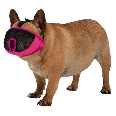 Trixie Muilkorf voor rassen met platte neus grijs