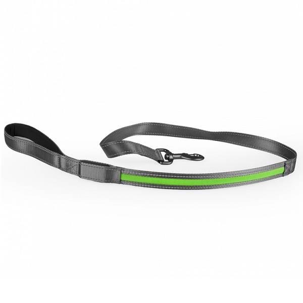 Duvo+ Metal Leiband met Verlichting USB 120 cm groen