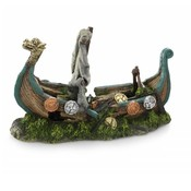 Aqua Della Aquarium Decoratie Viking boat