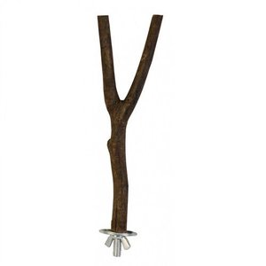 Trixie Zitstok natuurhout 20 cm