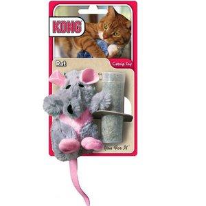 KONG Kattenspeelgoed Catnip Rat