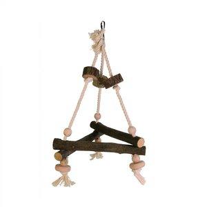 Trixie Vogelspeelgoed Triangel Schommel