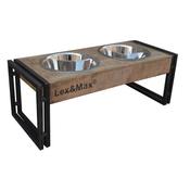 Lex & Max Houten voer- en waterbak Oslo