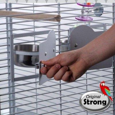 Strong Papegaaienkooi Helios Parelwit