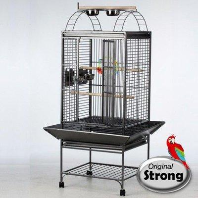 Strong Papegaaienkooi Sara grijs