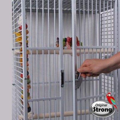 Strong Papegaaienkooi Sara wit