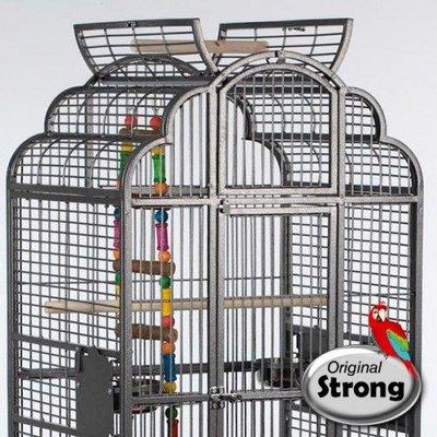 Strong Papegaaienkooi Claudia grijs