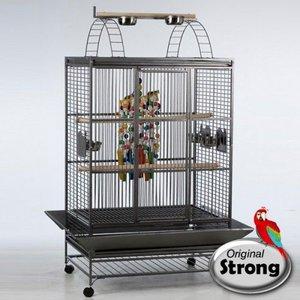 Strong Papegaaienkooi Aida grijs