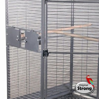 Strong Papegaaienkooi Erica grijs