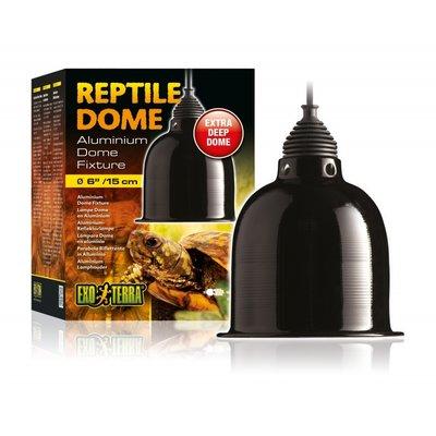 Exo Terra Aluminium Reptile Dome lamphouder ø15 cm