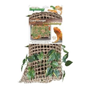 Penn Plax Lizzard Lounger with Vines