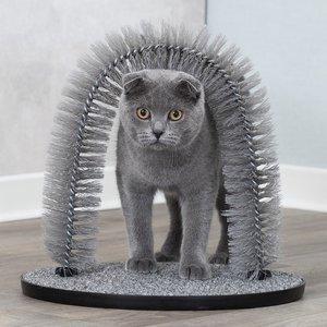 Trixie Massage en Vachtverzorgingsboog voor Katten