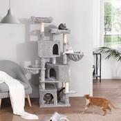 Pets Gifts Krabpaal Holzam licht grijs