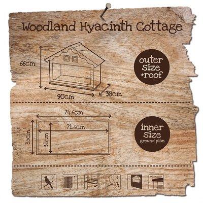 Duvo+ Woodland Hyacinth Cottage