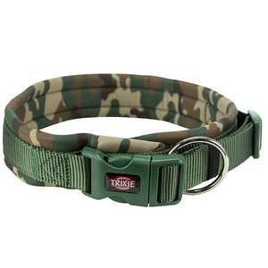 Trixie Premium Halsband met Neopreen Extra Breed Camouflage