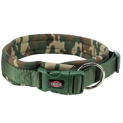 Trixie Premium Halsband met Neopreen Extra Breed Camouflage