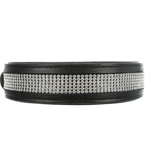 Trixie Comfort Halsband Extra Breed met Strass steentjes