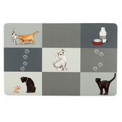 Trixie Placemat Kat Design Patchwork Cat