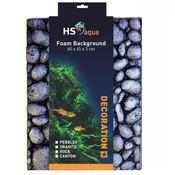 HS Aqua Achterwand Pebbles grey