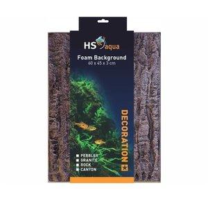 HS Aqua Achterwand Rock brown