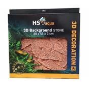 HS Aqua Achterwand Stone Brown