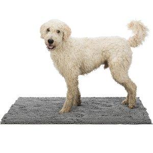 Trixie Schoonloopmat Microvezel voor Honden grijs