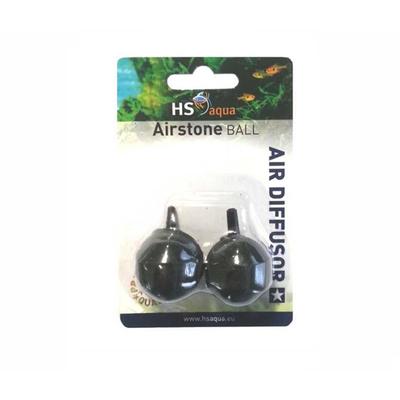HS Aqua Luchtsteen Bal zwart 2st