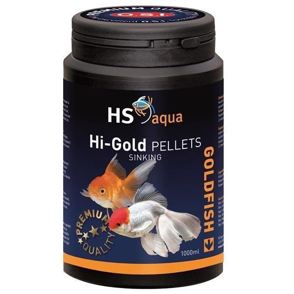 HS Aqua Hi Gold Pellets Goudvis Voer