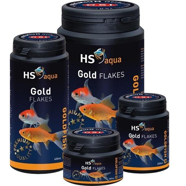 HS Aqua Gold Flakes Goudvis Voer