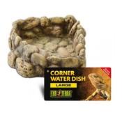 Exo Terra Corner Water Dish Pebble