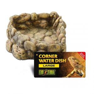 Exo Terra Corner Water Disch Pebble