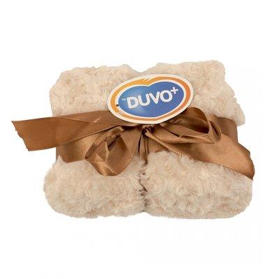 Duvo+ Fleece Deken beige 150 x 100