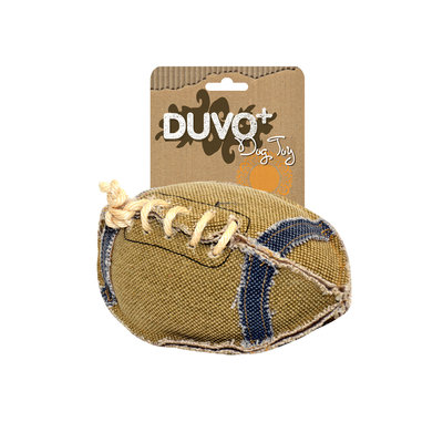 Duvo+ Hondenspeelgoed Canvas Football