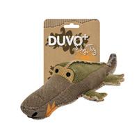 Duvo+ Hondenspeelgoed Canvas Krokodil