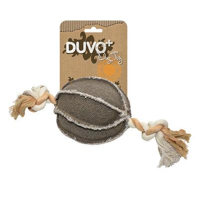 Duvo+ Hondenspeelgoed Canvas Bal met Touw
