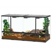 Aquatlantis Smart Line Terrarium zwart 118 x 45 x 60 cm