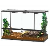 Aquatlantis Smart Line Terrarium zwart 118 x 45 x 75 cm