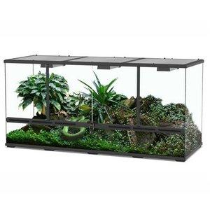 Aquatlantis Smart Line Terrarium zwart 132 x 45 x 60 cm