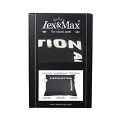 Lex & Max Hondenkussen Hoes Adventure black