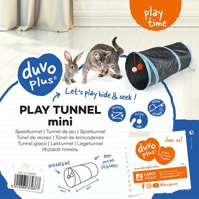 Duvo+ Speeltunnel Kat Mini