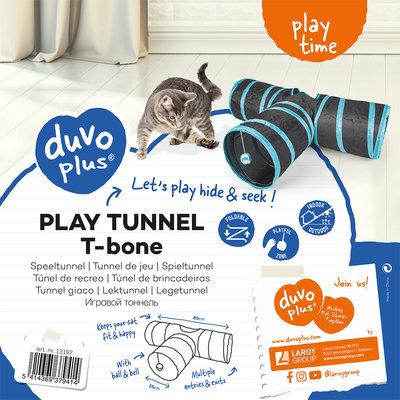 Duvo+ Speeltunnel Kat T-Bone